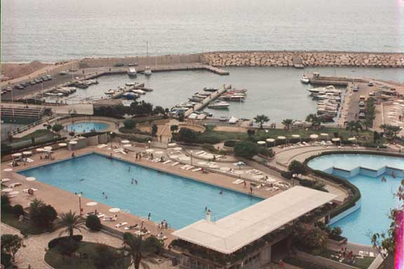 Holiday Beach Nahr El Kalb Lebanon Swimming Pools And Marina
